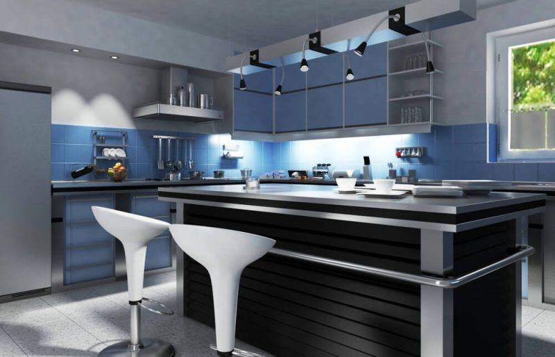 کابینت آشپزخانه فوق مدرن