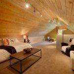 اجرای سقف چوبی سبک ویلایی