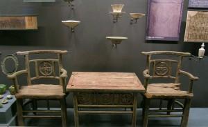 مبلمان ساخته شده در طول دودمان Liao ، کاوش های باستان شناسی از کاخ زیرزمینی در تیان کای تا، در Fangshan منطقه از پکن