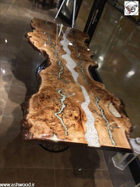 چوب و ریشه ، روکش مازل ، ساخت دکوراسیون چوب ی با روکش منحصر به فرد مازل