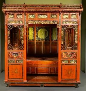 سایبان چوبی چینی