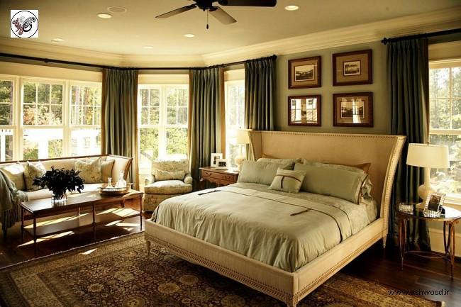 دکوراسیون منزل واز چیدمان اتاق خواب قشنگ (41 الگو)