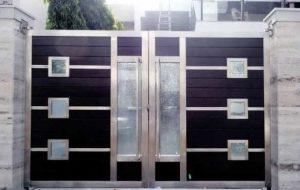 مدل درب حیاط خانه