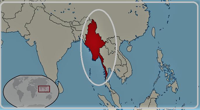 برمه و میانمار
