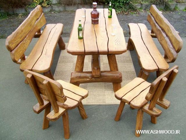 میز و صندلی دکوراسیون و مبلمان فضای باز , روف گاردن , آلاچیق