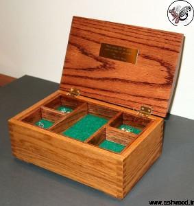 جعبه جواهر ( چوب کاج روسی )
