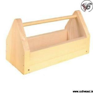 جعبه ابزار چوب کاج روسی