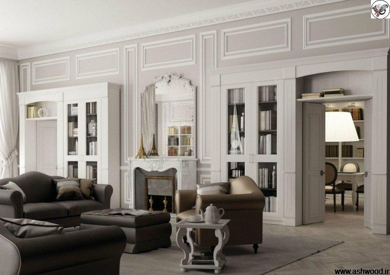 آپارتمان شیک کلاسیک در پاریس
