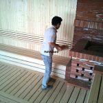 سونای خشک مجتمع تجاری پالادیوم