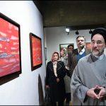 عکسهایی از افتتاح نمایشگاه عکس های رضا کیانیان