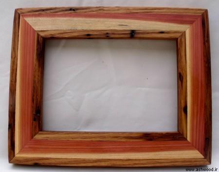 قاب چوبی سبک روستیک