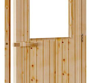 درب سونای خشک , در سونا