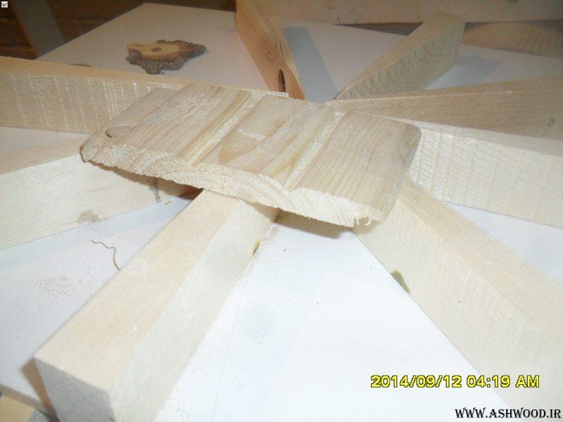 پروفیل لمبه و دیوارکوب چوب کاج روسی , ایده های جالب دیوارکوب و سقف کاذب