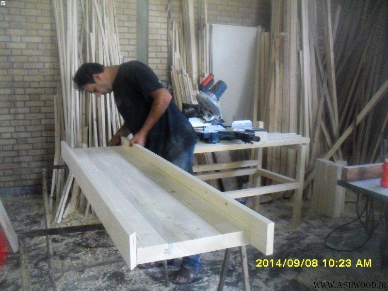 ساخت میز چوبی , تمام چوب کاج روسیه