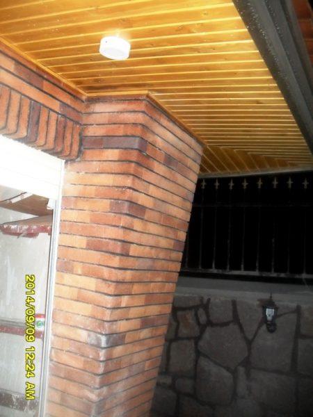 اجرای دیواره ، سقف و کف لمبه کوبی و سقف کاذب , دکوراسیون چوبی نما و داخل ساختمان