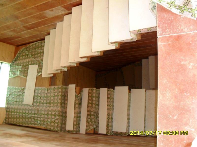 پله چوب راش , سازه بزرگ چوبی بدون پیچ و میخ , اتصالات مهندسی , لوکس و سفارشی