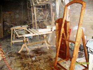 کارگاه فن و هنر قاب آینه چوبی , قاب چوبی