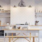 طراحی آشپزخانه به سبک اسکاندیناوی
