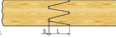 شکل 8شکل 9شکل 8 - مرتب کردن جاهای خالی با اره وزوز برای صاف شدن و ایجاد ته قائم