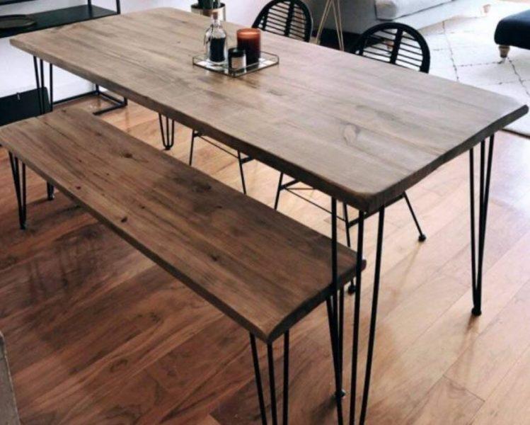 میز ناهار خوری از خانه های فولادی ضد زنگ