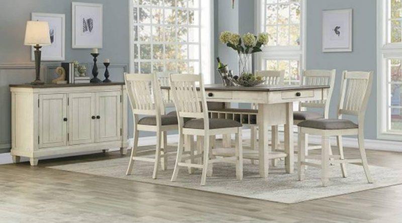 میز ناهار خوری مستطیل با کشو