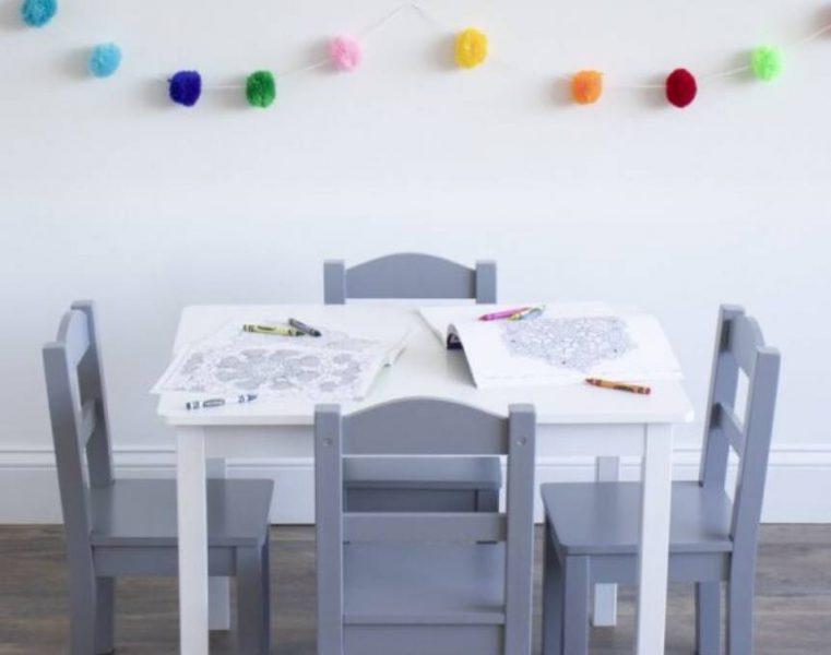 میز ناهار خوری مستطیل برای کودکان