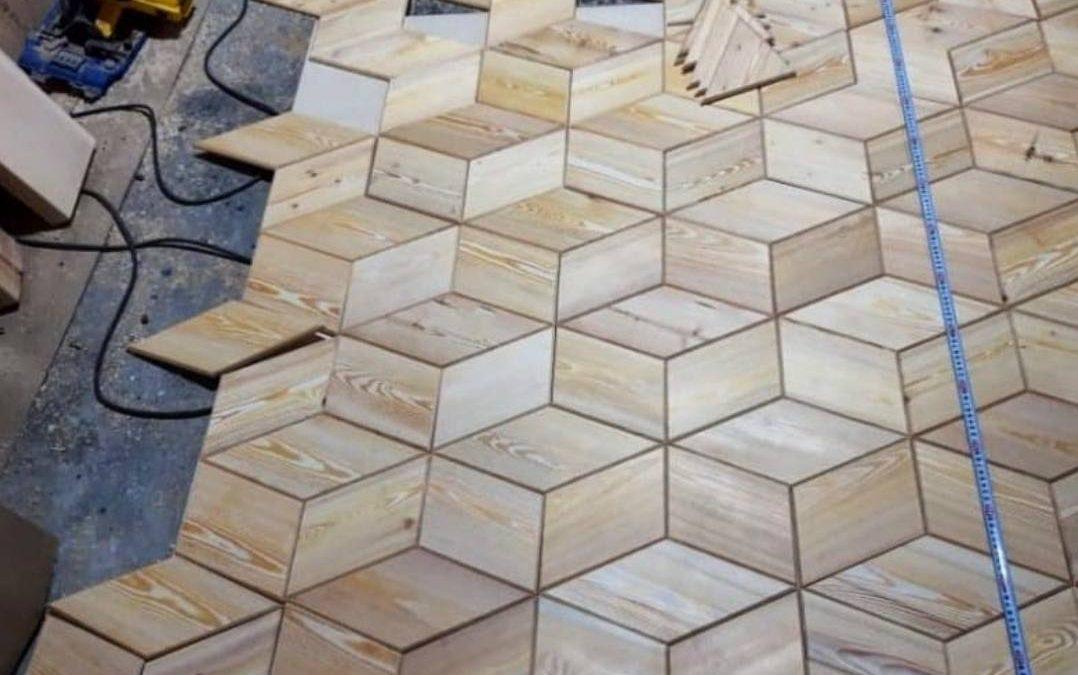 مدل کفپوش چوبی بسیار جالب