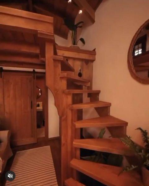پلکان چوبی ویلایی , کمجا و سریع