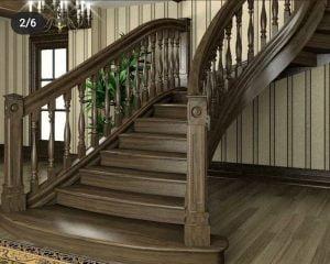 پله های چوبی داخل ساختمان,ایده های جالب پله چوبی,پله چوبی مدرن و کلاسیک ,پله با نورپردازی,دکوراسیون پله,پله های زیبا, پله چوبی بدون نرده,نرده پله چوبی