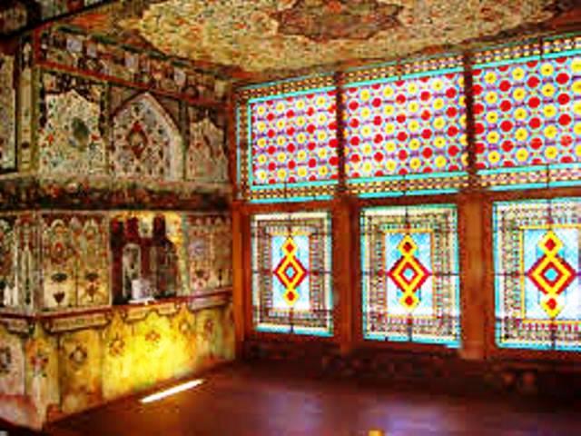 کاخ شکی خان اثر ماندگار از هنر گره چینی