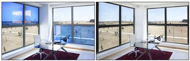 شیشه هوشمند و پنجرههای هوشمند