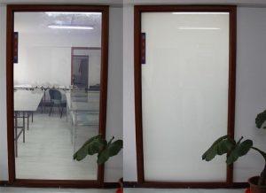 پنجره هوشمند , شیشه هوشمند