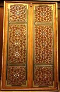 THE DOOR WOODEN ART IRAN ZAMIN33
