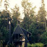 ساخت آلاچیق و کلبه چوبی