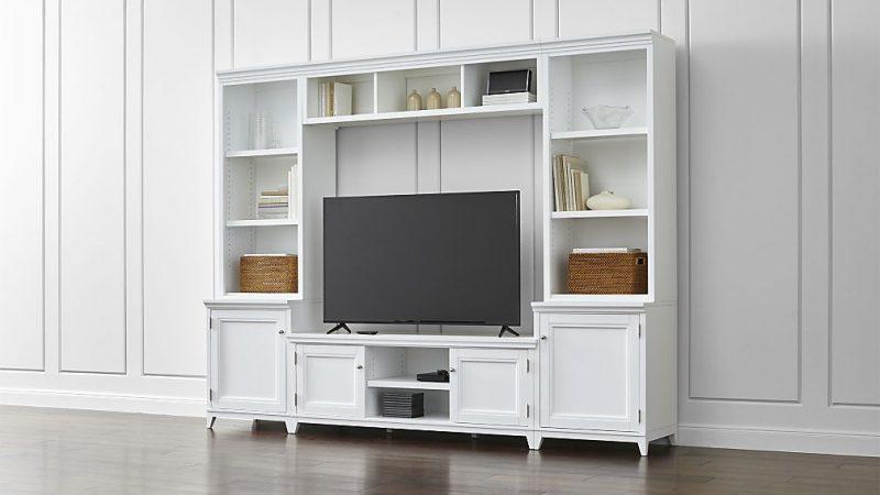 دکوراسیون چوبی ، بوفه کلاسیک و میز tv