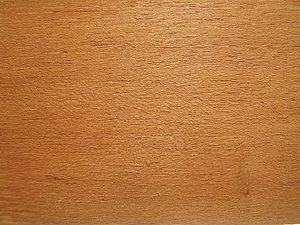 سطح برش خوردهٔ چوب ساج