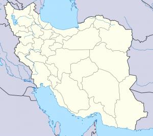 map tehran iran