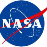 The NASA insignia. Element RGB color values as defined in Encapsulated PostScript file obtained from the Publishing Office of NASA Glenn Research Center.