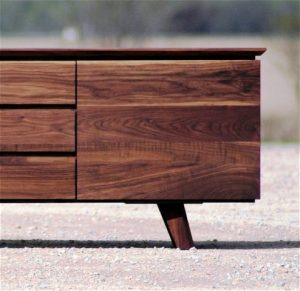طراحی مدرن از کنسول ها و بوفه چوبی
