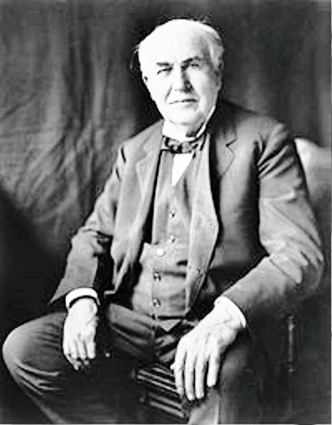 سخنان «توماس ادیسون» درباره ی موفقیت