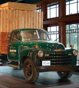 ماشین حمل چوب در سال 1939