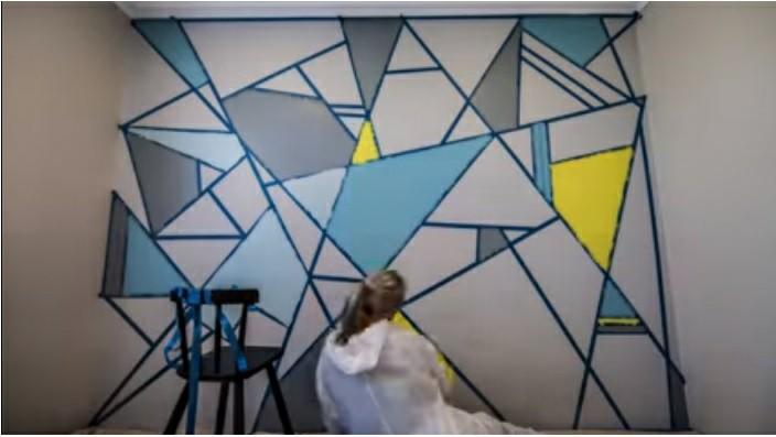 نقاشی روی دیوار , تم های طراحی داخلی 2018 فن و هنر