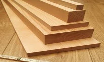 تکه چوب هایی در اندازه های مختلف چوب راش
