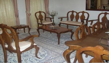 میز چوب راش