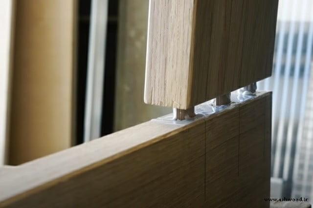 اتصال فاق و زبانه قوی برای ساخت درب های تمام چوب