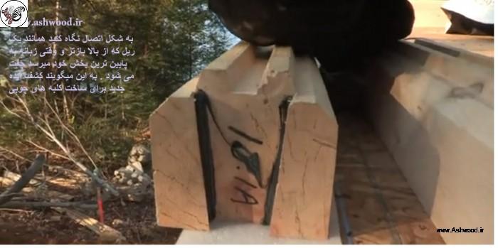 کلبه چوبی نقشه ساخت کلبه چوبی