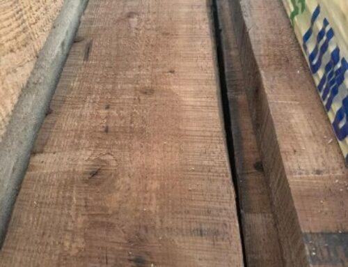 تخته و الوار چوب ترمووود , تراورس چوب کاج روسی