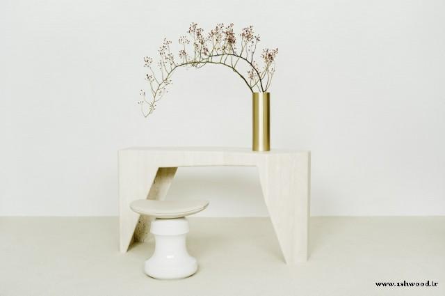 14 میز کنسول چوبی بسیار زیبا به سبک اصیل