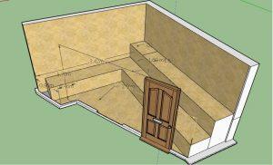 طراحی سونای خشک جناب گلباز