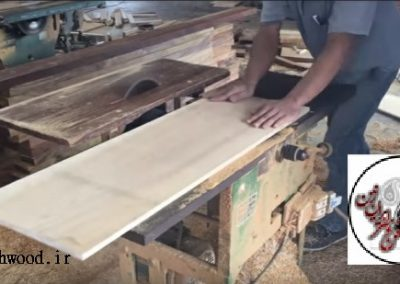 میز و کنسول چوبی , میز بار ؛ نجاری میز باز تمام چوب